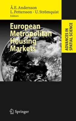 Andersson, Åke E. - European Metropolitan Housing Markets, ebook
