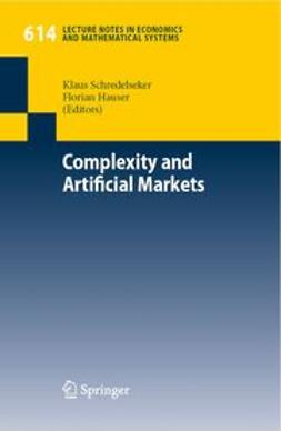Hauser, Florian - Complexity and Artificial Markets, ebook