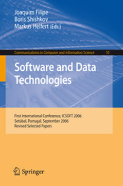 Filipe, Joaquim - Software and Data Technologies, ebook