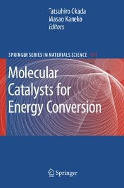Kaneko, Masao - Molecular Catalysts for Energy Conversion, ebook