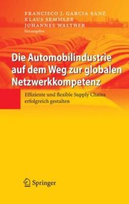 Sanz, Francisco J. Garcia - Die Automobilindustrie auf dem Weg zur globalen Netzwerkkompetenz, ebook