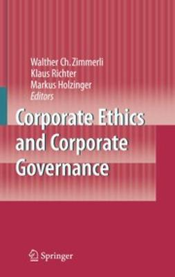 Holzinger, Markus - Corporate Ethics and Corporate Governance, ebook