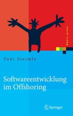Steimle, Toni - Softwareentwicklung im Offshoring, e-bok
