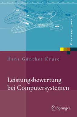 Kruse, Hans Günther - Leistungsbewertung bei Computersystemen, ebook