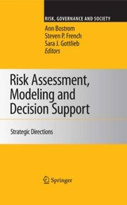 Bostrom, Ann - Risk Assessment, Modeling and Decision Support, ebook