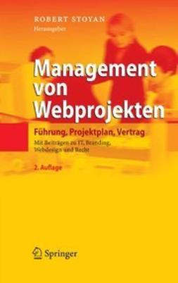 Stoyan, Robert - Management von Webprojekten, ebook
