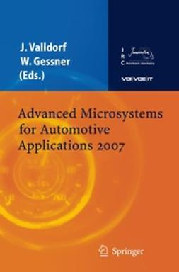 Gessner, Wolfgang - Advanced Microsystems for Automotive Applications 2007, e-bok