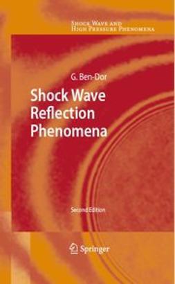 Ben-Dor, Gabi - Shock Wave Reflection Phenomena, e-kirja