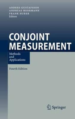 Gustafsson, Anders - Conjoint Measurement, ebook