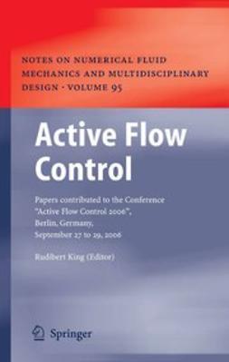 King, Rudibert - Active Flow Control, e-kirja