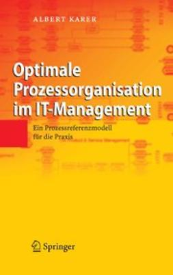 Karer, Albert - Optimale Prozessorganisation im IT-Management, e-kirja