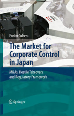 Colcera, Enrico - The Market for Corporate Control in Japan, ebook