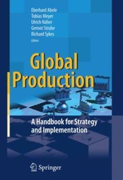 Abele, Eberhard - Global Production, e-bok