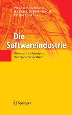 Buxmann, Peter - Die Softwareindustrie, ebook