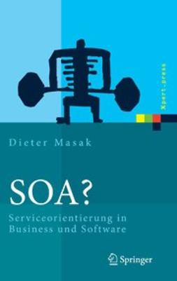 Masak, Dieter - SOA?, ebook