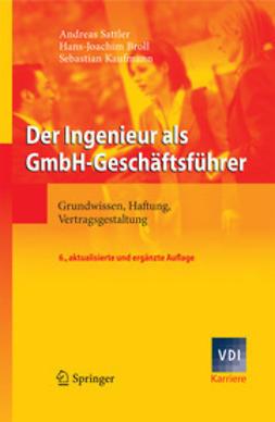 Sattler, Andreas - Der Ingenieur als GmbH-Geschäftsführer, ebook