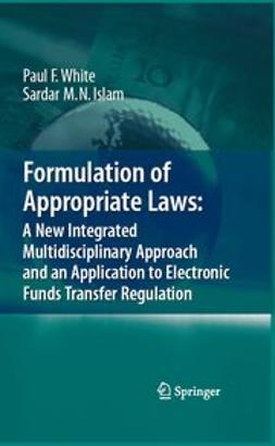 Islam, Sardar M. N. - Formulation of Appropriate Laws: A New Integrated Multidisciplinary Approach and an Application to Electronic Funds Transfer Regulation, e-kirja