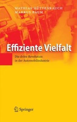 Baum, Markus - Effiziente Vielfalt, ebook