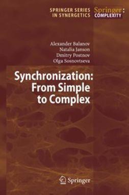 Balanov, Alexander - Synchronization, ebook