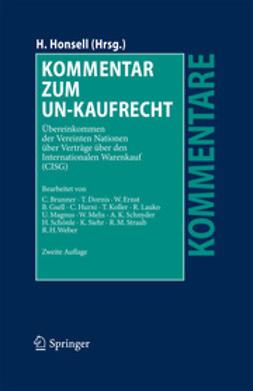 Honsell, Heinrich - Kommentar zum UN-Kaufrecht, ebook