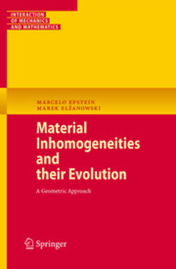 Elżanowski, Marek - Material Inhomogeneities and their Evolution, ebook