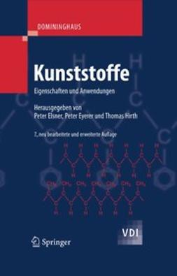 Domininghaus, Hans - Kunststoffe, ebook
