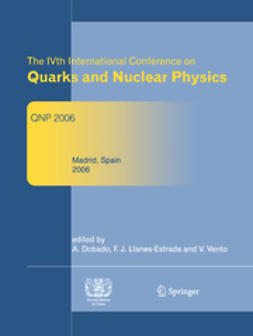 Gonzalez, Antonio Dobado - The IVth International Conference on Quarks and Nuclear Physics, ebook