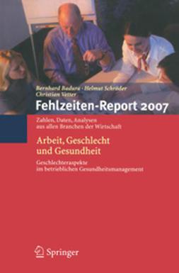 Badura, Bernhard - Fehlzeiten-Report 2007, ebook