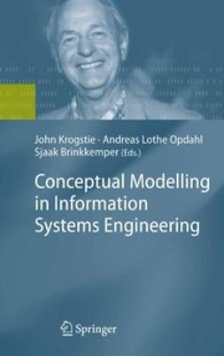 Brinkkemper, Sjaak - Conceptual Modelling in Information Systems Engineering, ebook