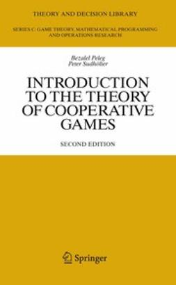 Peleg, Bezalel - Introduction to the Theory of Cooperative Games, ebook