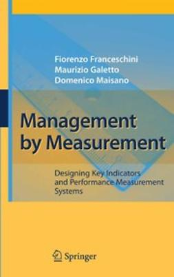 Management by Measurement