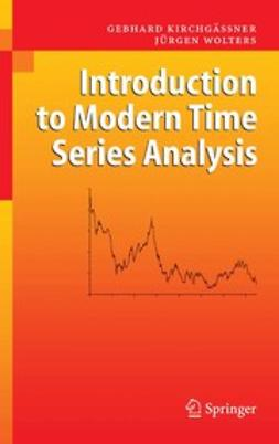 Kirchgässner, Gebhard - Introduction to Modern Time Series Analysis, ebook