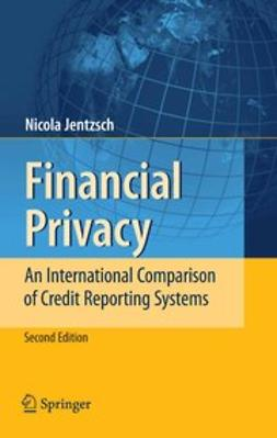 Jentzsch, Nicola - Financial Privacy, ebook