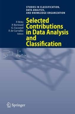 Bertrand, Patrice - Selected Contributions in Data Analysis and Classification, ebook