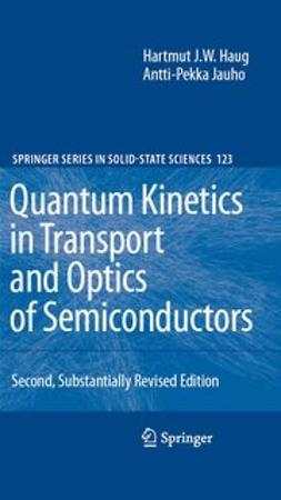 Haug, Hartmut - Quantum Kinetics in Transport and Optics of Semiconductors, e-bok