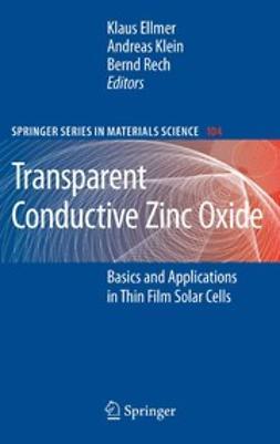 Ellmer, Klaus - Transparent Conductive Zinc Oxide, ebook