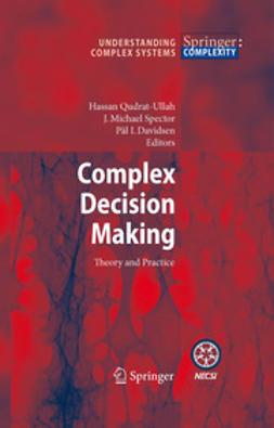 Davidsen, P.I. - Complex Decision Making, e-bok