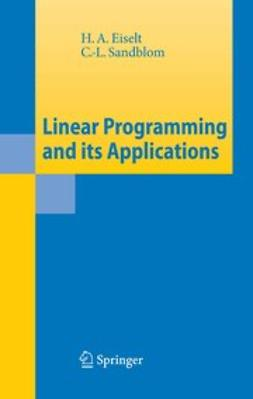 Eiselt, H. A. - Linear Programming and its Applications, ebook