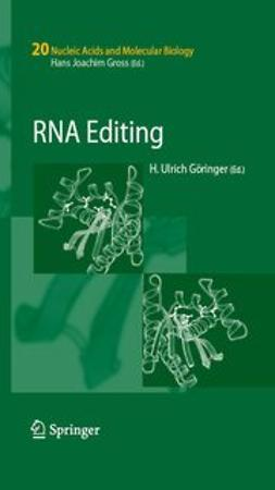 Göringer, H. Ulrich - RNA Editing, ebook