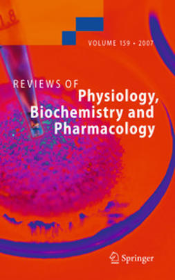 - Reviews of Physiology, Biochemistry and Pharmacology, e-bok