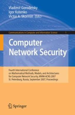Gorodetsky, Vladimir - Computer Network Security, ebook