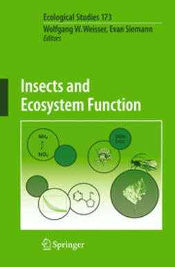 Weisser, Wolfgang W. - Insects and Ecosystem Function, e-bok