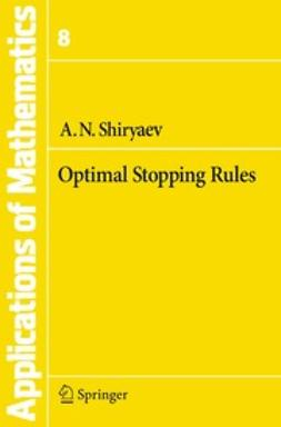 Grimmett, G. - Optimal Stopping Rules, ebook