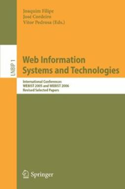 Cordeiro, José - Web Information Systems and Technologies, e-kirja