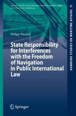 Wendel, Philipp - State Responsibility for Interferences with the Freedom of Navigation in Public International Law, ebook