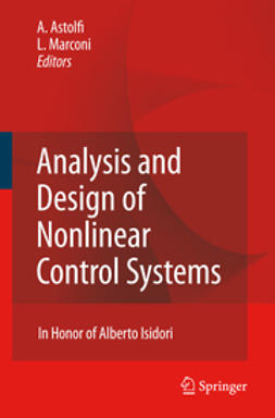 Astolfi, Alessandro - Analysis and Design of Nonlinear Control Systems, ebook