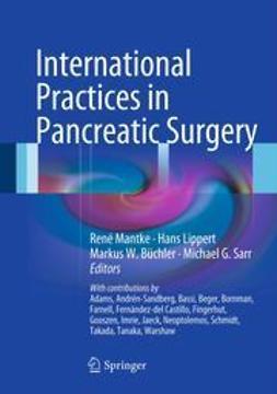 Mantke, René - International Practices in Pancreatic Surgery, ebook
