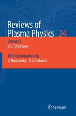 Bakunin, Oleg G. - Reviews of Plasma Physics, e-bok