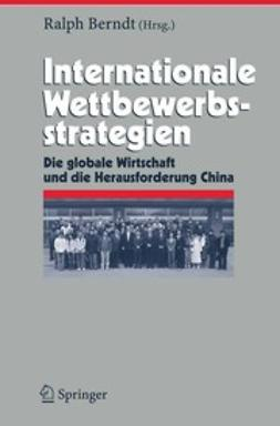 Berndt, Ralph - Internationale Wettbewerbsstrategien, ebook