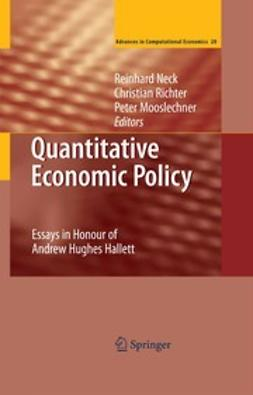 Mooslechner, Peter - Quantitative Economic Policy, ebook